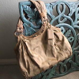 Coach handbag. Fair to good condition. Used